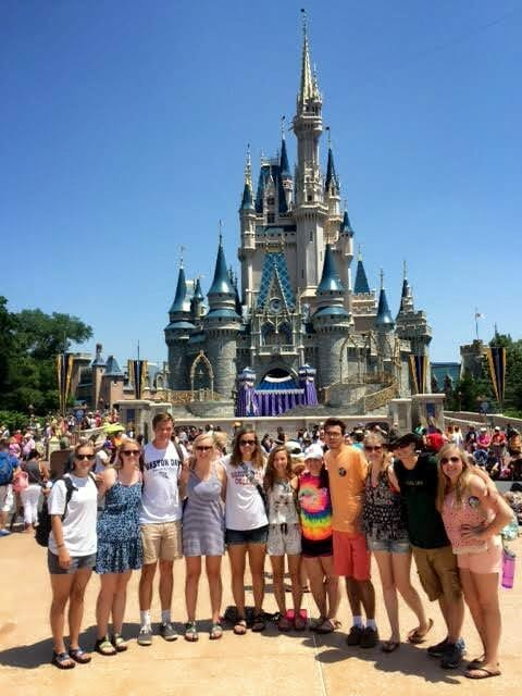 AST Students at Disney