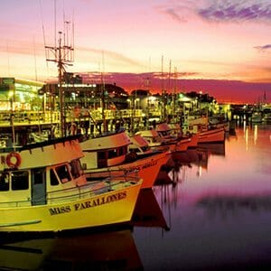 300x300 California - SF Fisherman's Wharf sunset