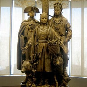 National Museum of the American Indian Statue