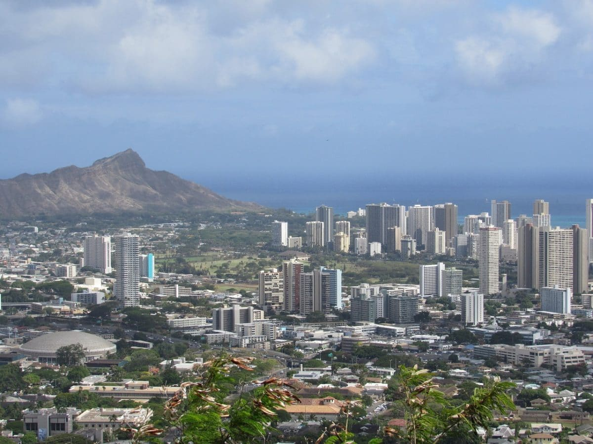 Honolulu City Pixabay Public Domain