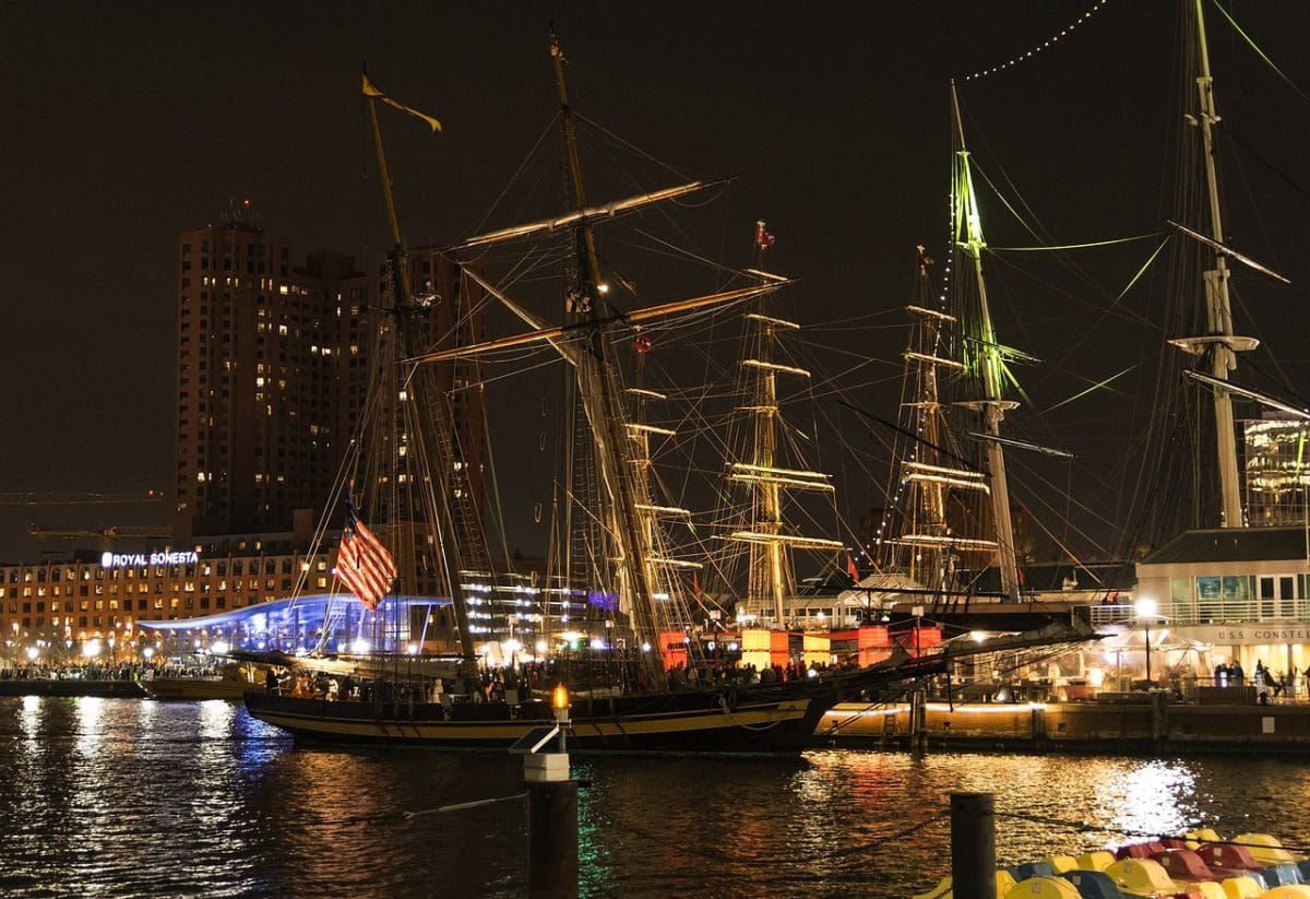 Baltimore Inner Harbor Pixabay Public Domain