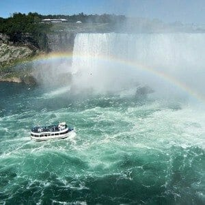 Maid of the Mist Boat Tour at Niagara Falls