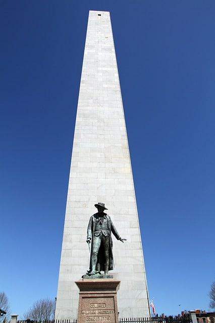 Boston Bunker Hill Pixabay Public Domain