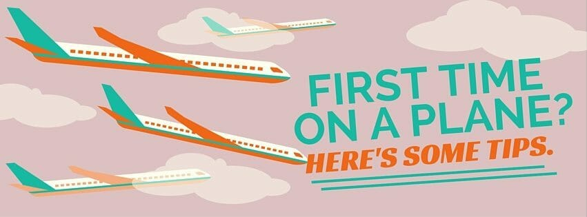 FIRST TIME ON A PLANE-