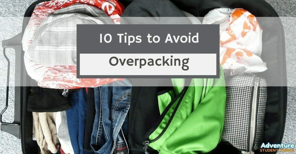 Tip to avoid overpacking