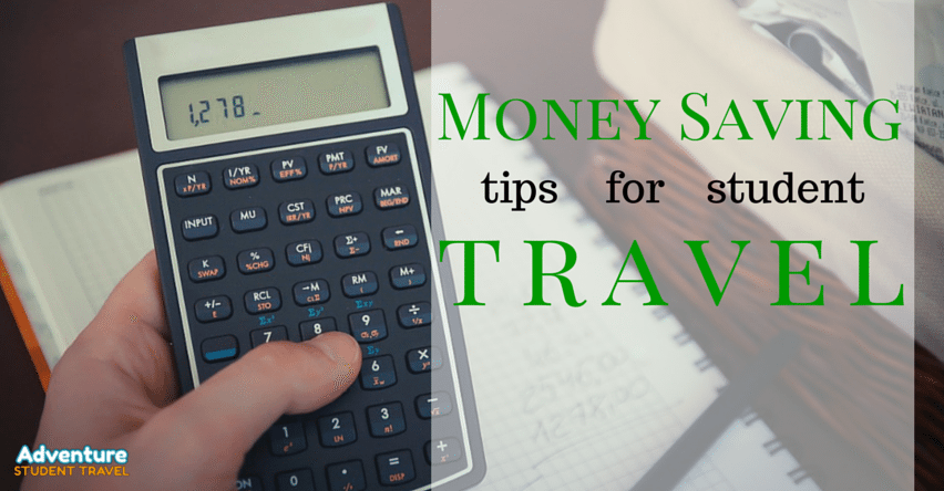 Money Saving Tips for Student Travel
