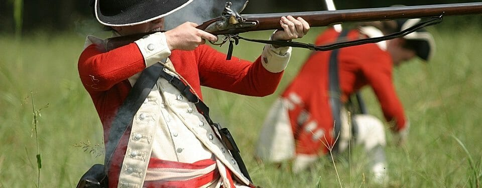 English Redcoat