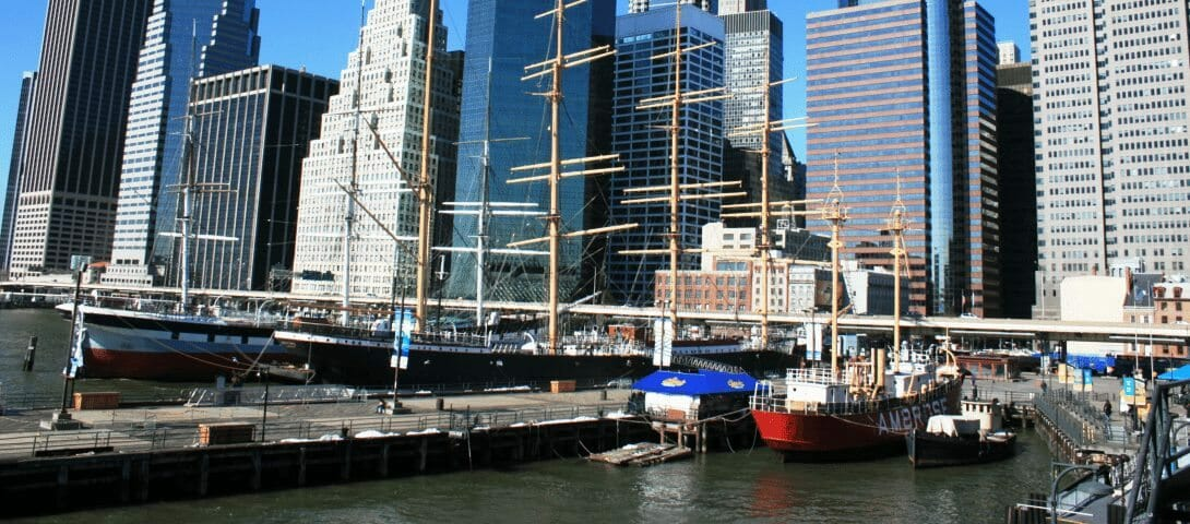 South Street Seaport in NYC