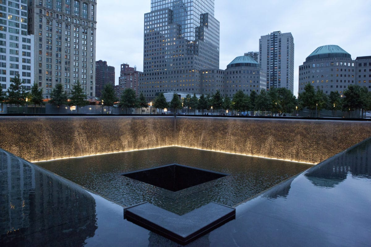 9/11 Memorial, Financial District, Manhattan Credit Marley White