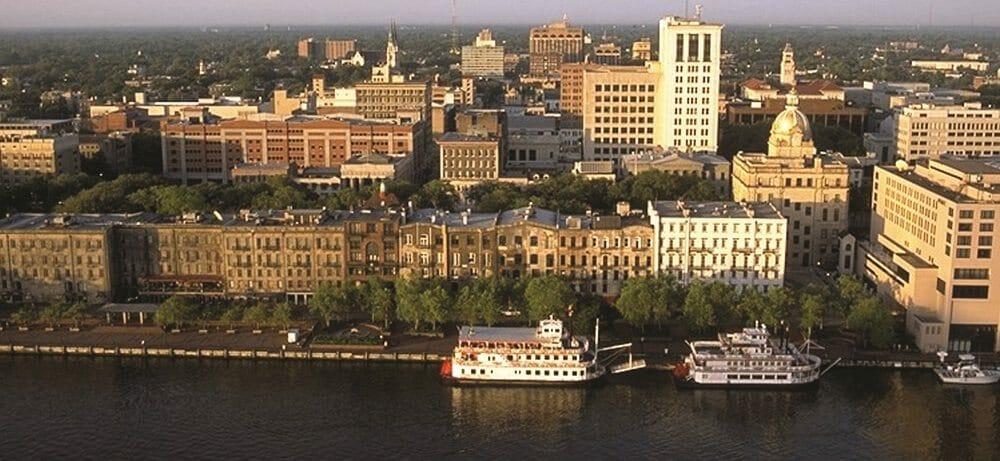 Savannah Historic District Skyline