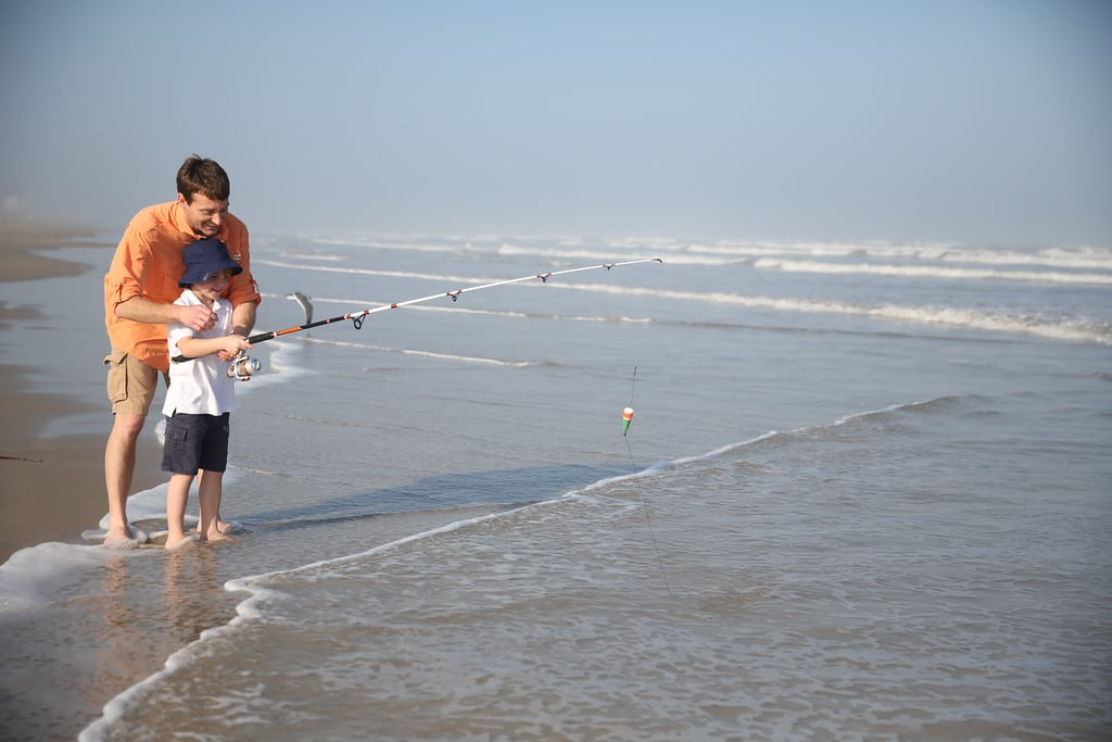 Mustang Island Fishing Credit CCCVB