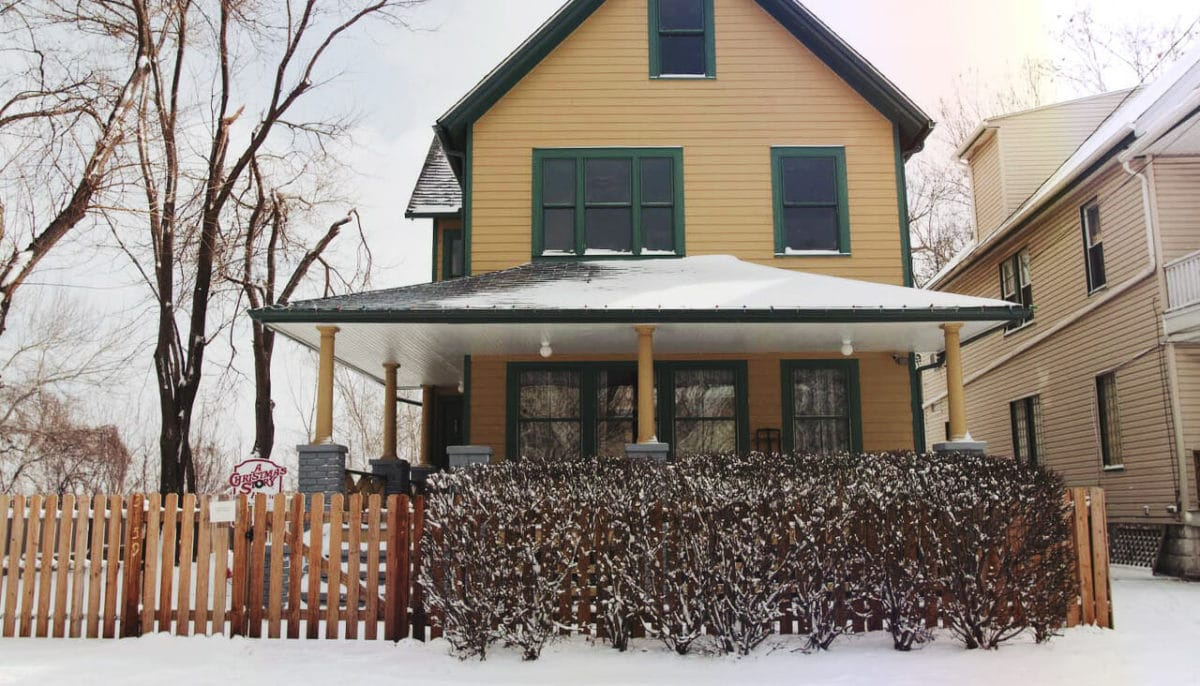 A Christmas Story House Courtesy of ThisisCleveland.com