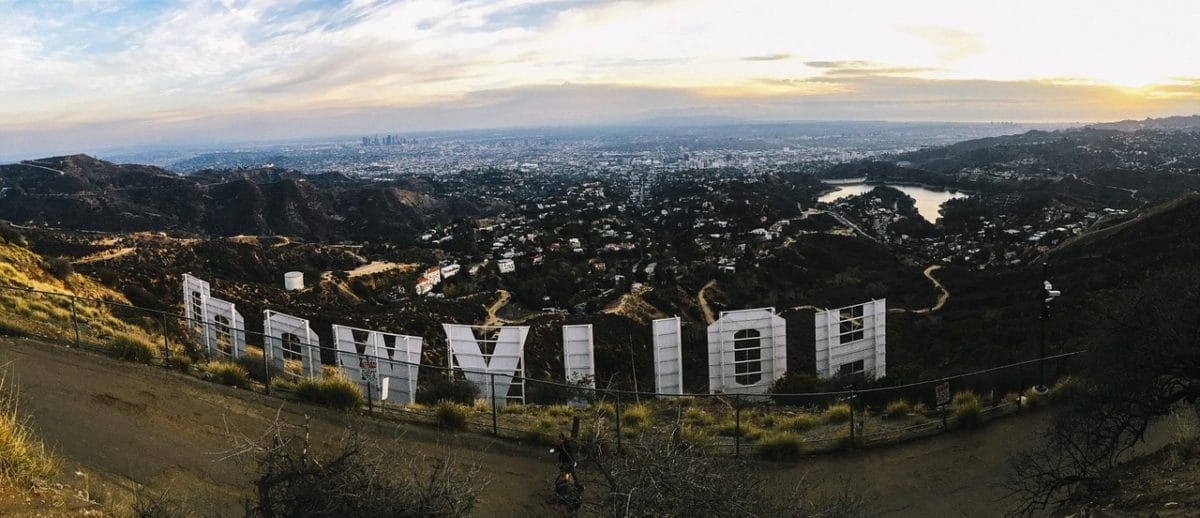 Hollywood Sign Pixabay Public Domain