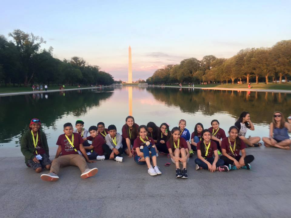 Student Trip to Washington D.C with AST