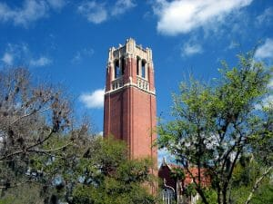 Century Tower University of Florida student trip campus visit