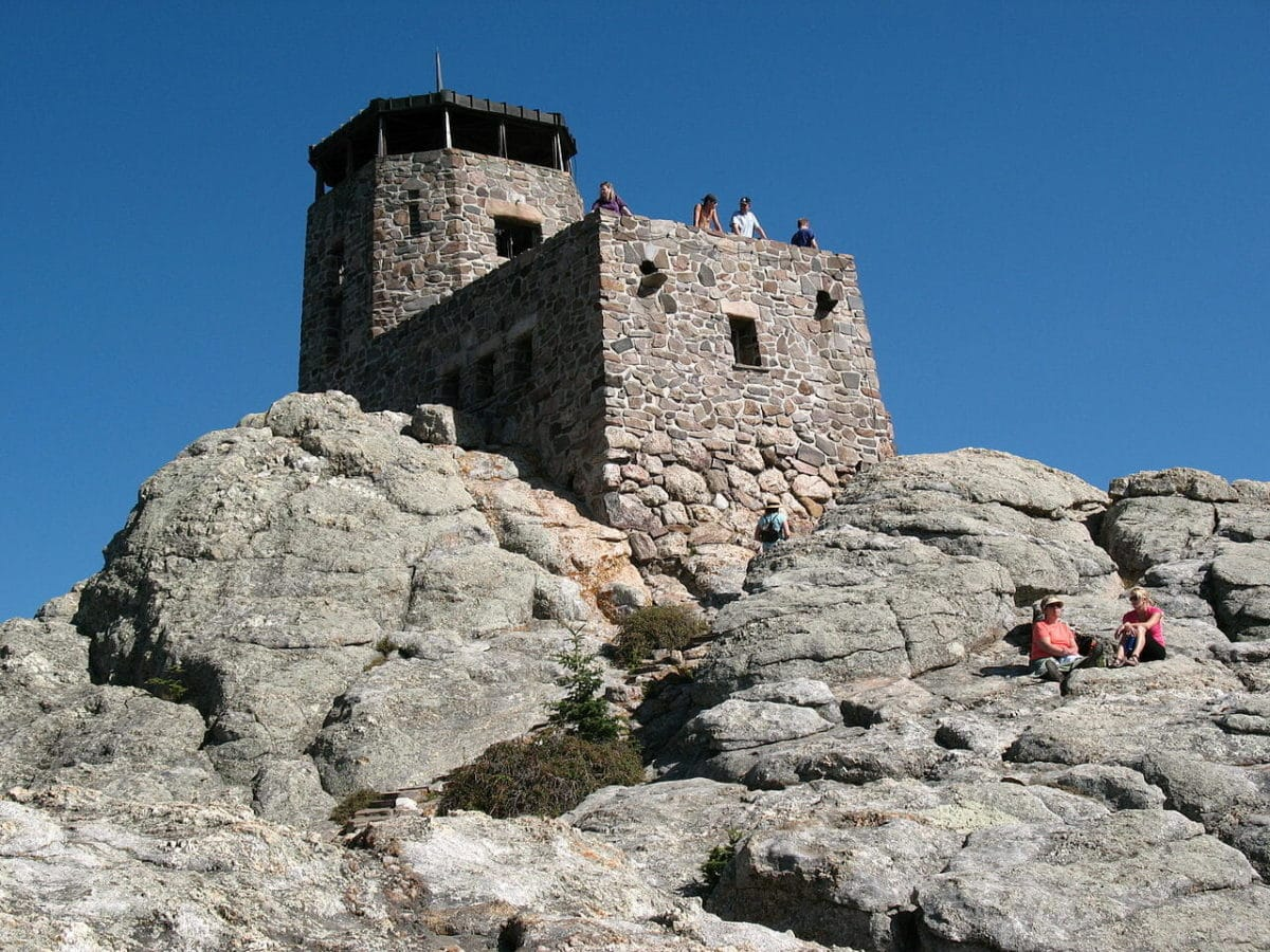 Fire Tower at Black Elk Peak South Dakota