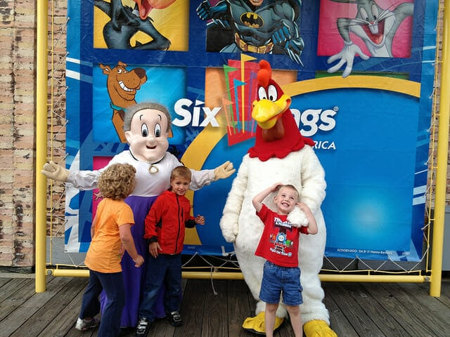 Six Flags Great America with AST anjanettew