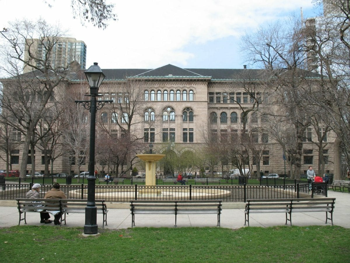 Newberry Library Chicago with AST