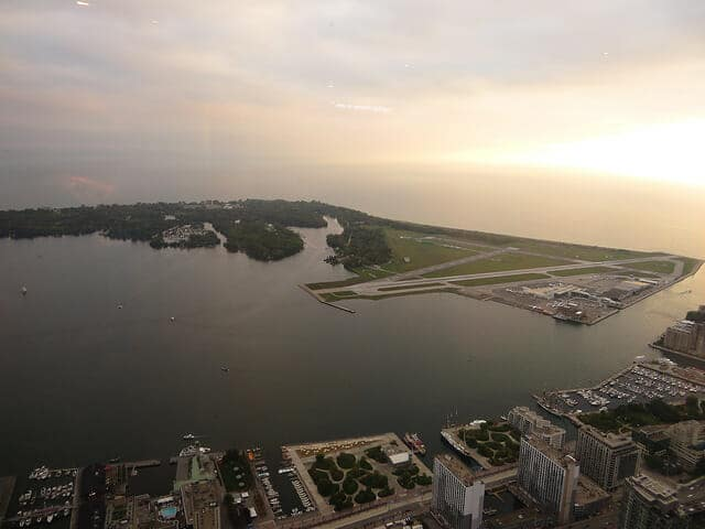 Toronto Islands from CN Tower - Ken Lund
