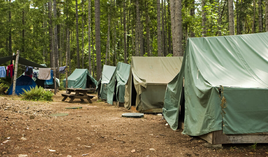 Field Trip Ideas for Boy Scouts: Camping