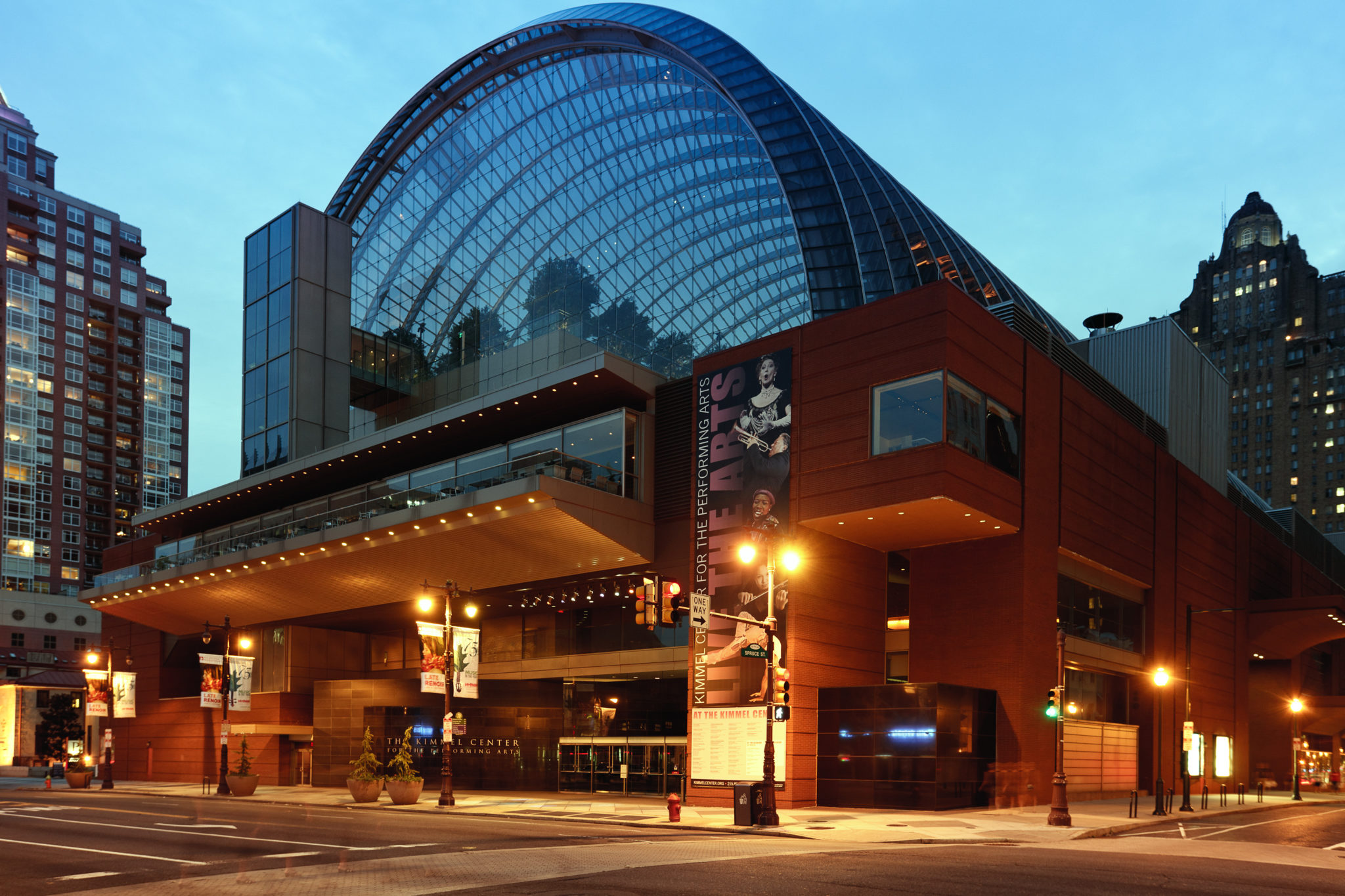 Kimmel Center for the Performing Arts photo by Paul Loftland for PHLCVB