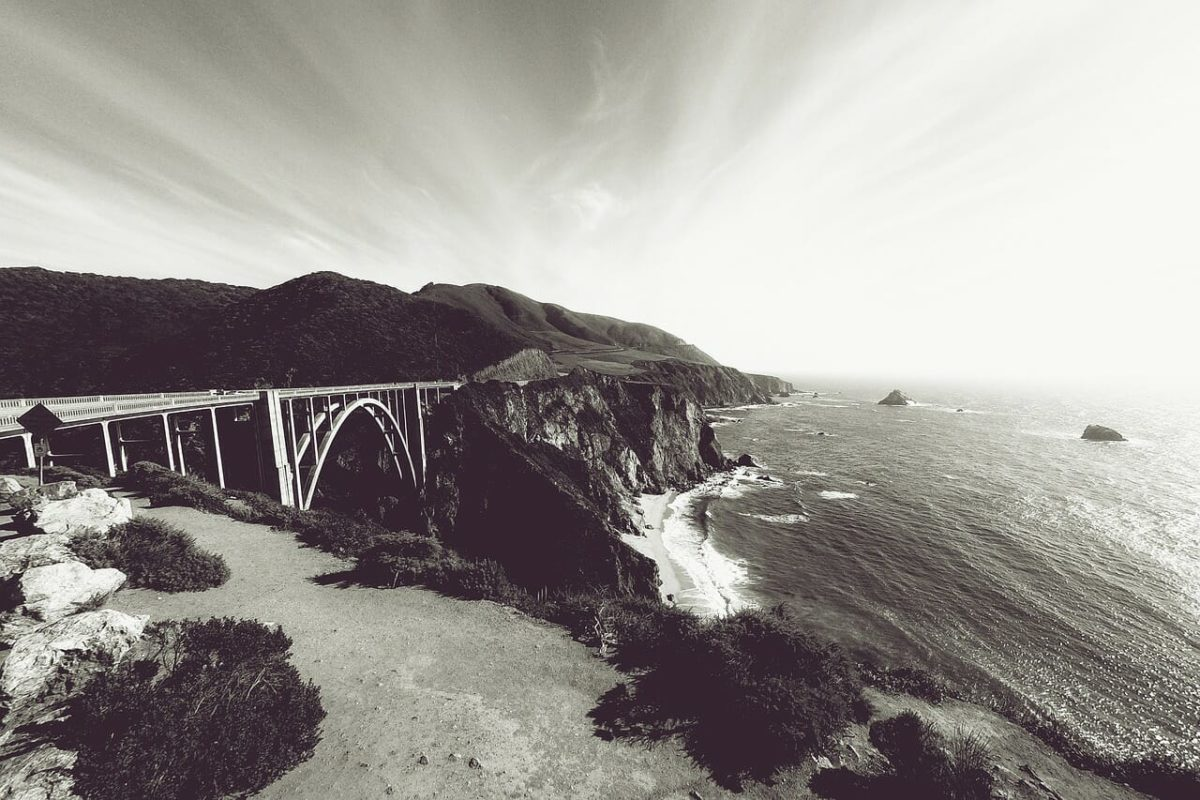 Bixby Creek Bridge Pixabay Public Domain