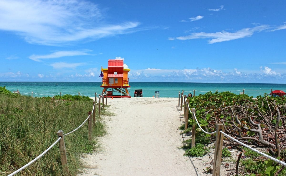 Miami Beach Pixabay Public Domain