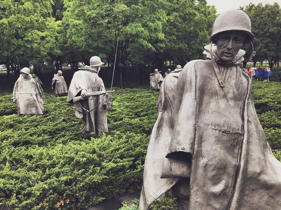 korean war memorial Credit Josh Hettinger