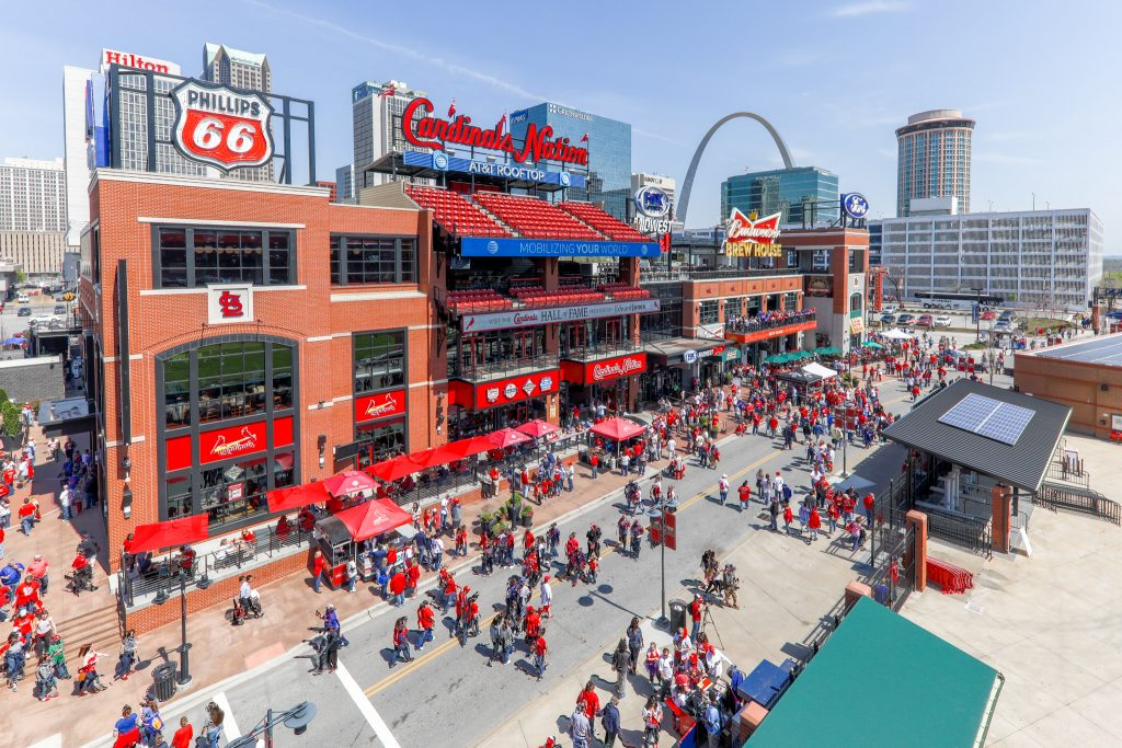 © Ballpark Village St. Louis. Photo by Zach Dalin Photography