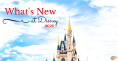 What's New at Disney 2020