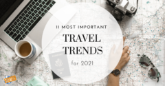 11 Most Important Travel Trends for 2021