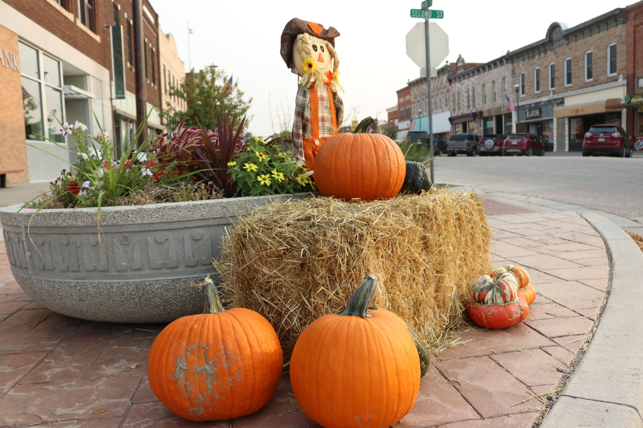 Downtown Historic District in Fall Discover NW Nebraska