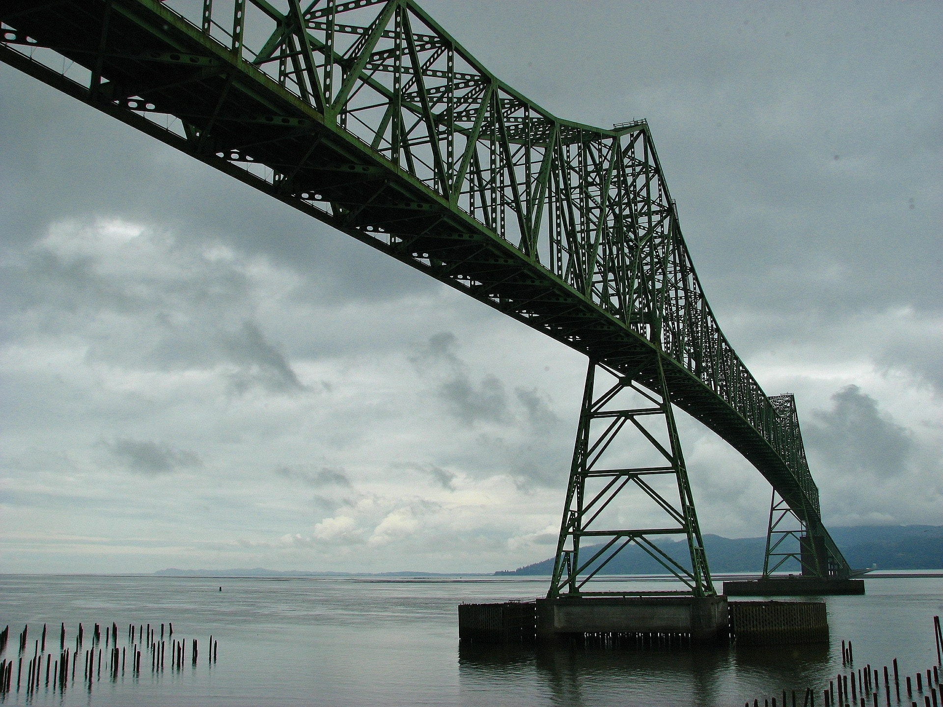 Astoria Megler Bridge Pixabay Public Domain