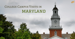 College Campus Visits in Maryland